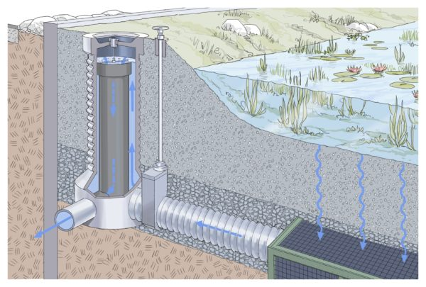 Stadt NEWS: Innovativer Bodenfilter im Wasserpark sichert Wasserqualität der Alten Donau!