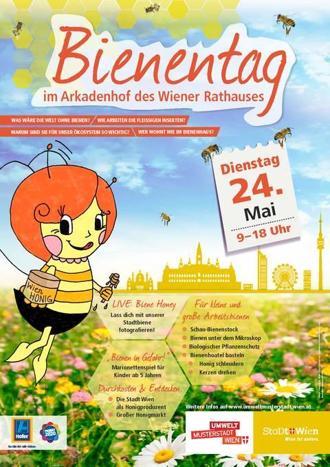 ÖBP Tipp: 3. Wiener Bienentag im Rathaus